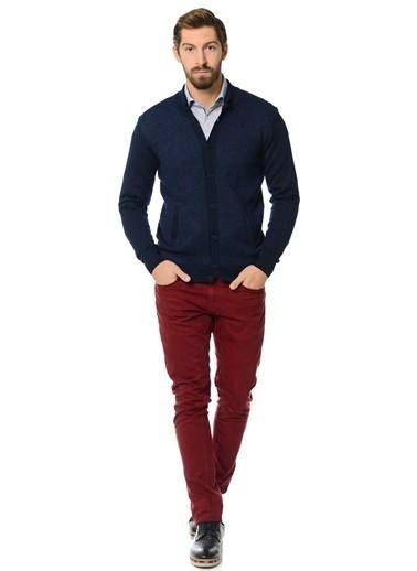 Kip Klasik Pantolon Kırmızı